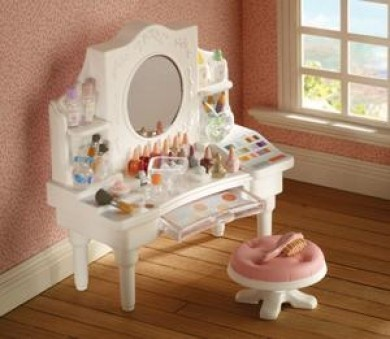 296 best calico creative images on pinterest for Sylvanian families beauty salon dressing table