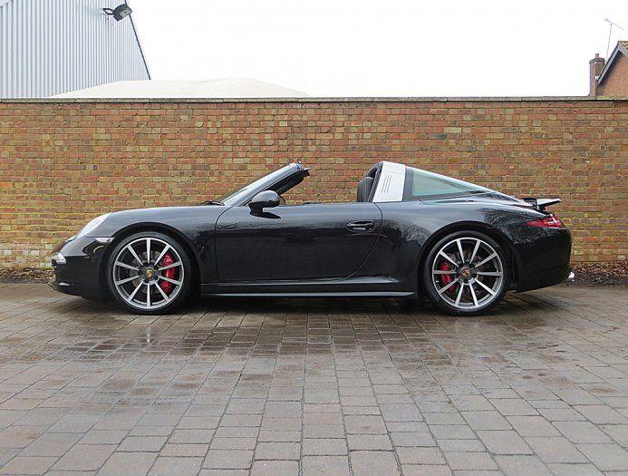 2014 (14) Porsche 911 (991) Targa 4S PDK | Basalt Black Metallic