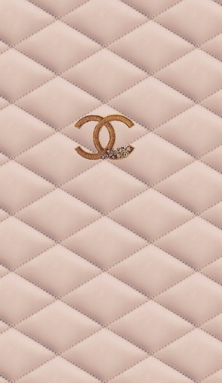 Image Uploaded By Kimberly Rochin Find Images And Videos About Chanel On We Heart It The App Chanel Wallpapers Gold Wallpaper Background Rose Gold Wallpaper