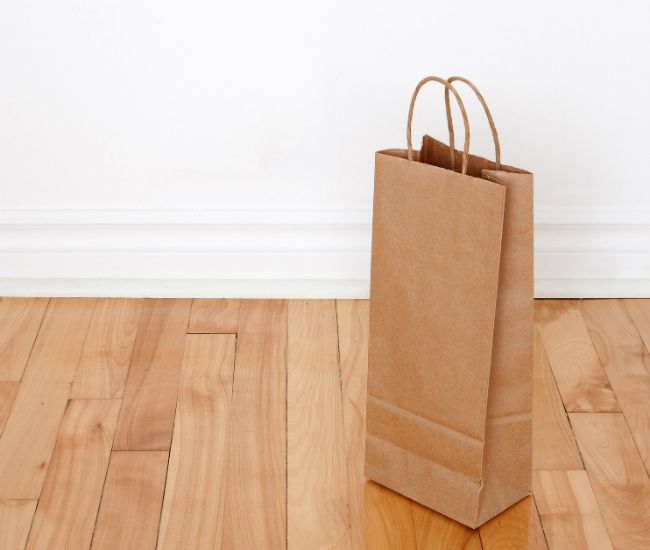 Would you ever consider a DIY paper bag floor? Here's everything you need to know before embarking on this project.