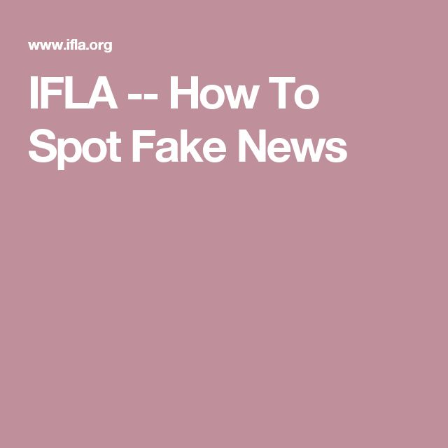 48 best information literacy images on pinterest fake news this website offers tips on how to spot fake news fandeluxe Image collections