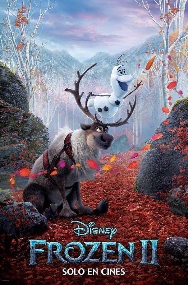 Frozen 2 Trailer Poster Oficial Frozen Disney Sven De Frozen La Pelicula Frozen