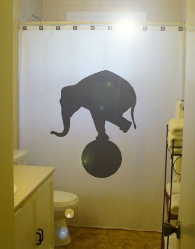 17 Best Ideas About Elephant Shower Curtains On Pinterest