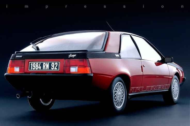 1983 Renault Fuego Turbo