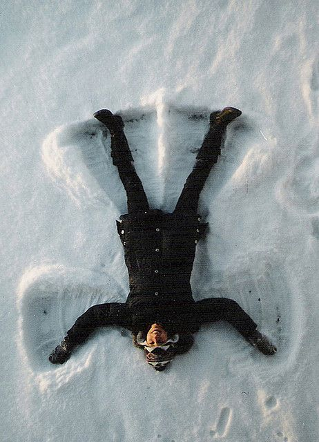 When was the last time you did a snow angel?  From Joe Pepper
