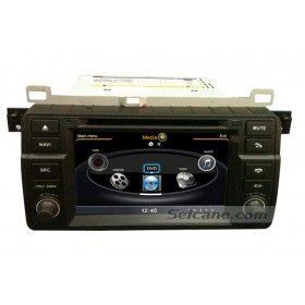7 Zoll TFT-LCD Touchscreen BMW 3 Series E46 DVD Radio Player mit 3G Wlan 3-Zonen POP Eingebaut GPS BT Musik DVD-Aufnahmefunktion