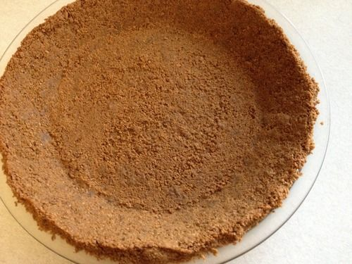 Ginger Snap Crust goes well with your favorite pumpkin pie