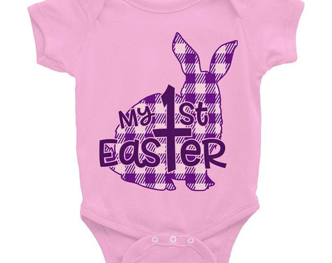 Personalized Baby Girl Easter Outfit Custom Baby Girl Easter Shirt Custom Shirt Baby Girl Easter Shirt Baby Girl Easter Outfit