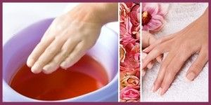 Homemade spa treatment with parrafin wax. Paraffin Wax can be bought at Grocery stores or Craft Shops.