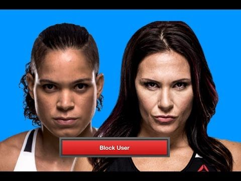 MMA Amanda Nunes on blocking Cat Zingano on Instagram, UFC / MMA news