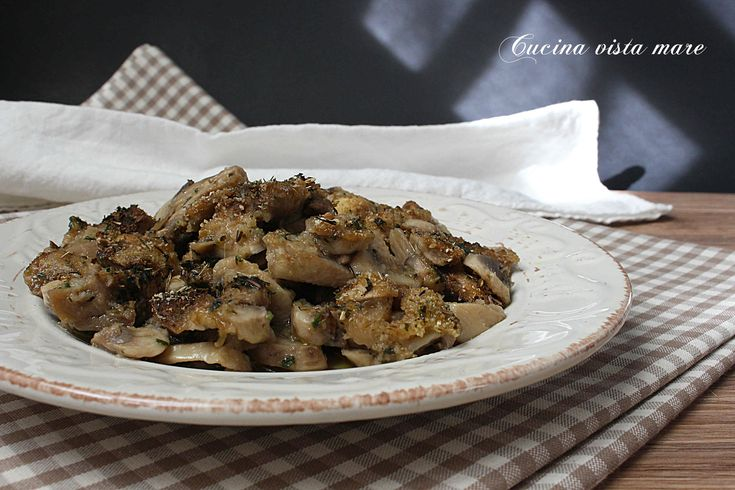 Funghi+gratinati