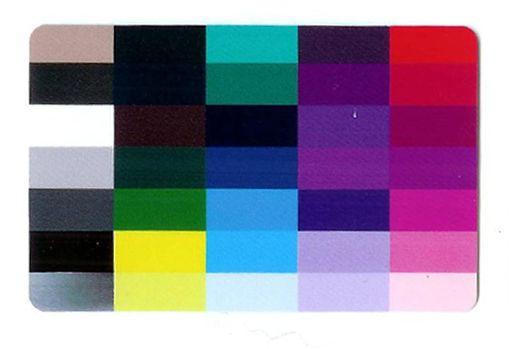 Colourcard wintertype
