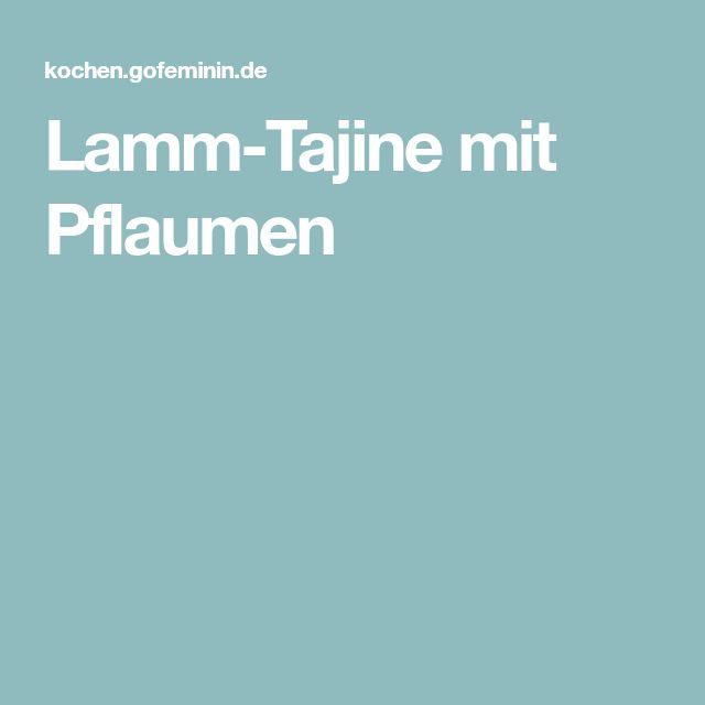 Lamm-Tajine mit Pflaumen