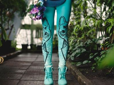 These tights are so adorable!
