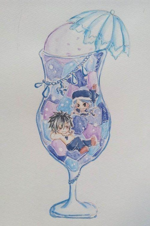 Cocktail Gruvia ! (chibi)