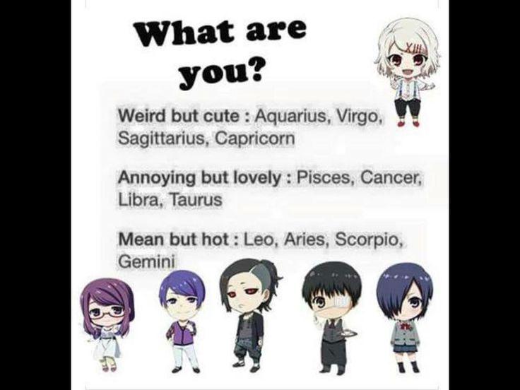 Anime horoscope girlfriend