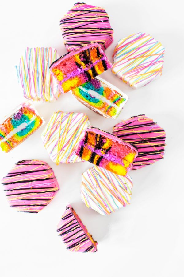 Definitely needing these Zebra Cakes in our life right about now.