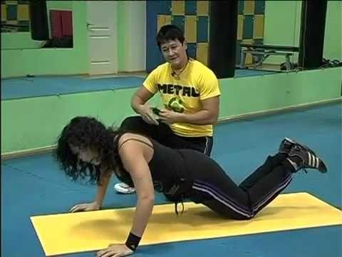 Анна Куркурина - Интенсивный тренинг на все группы мышц - YouTube