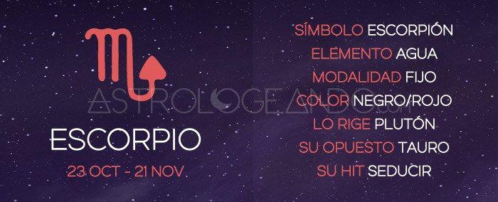 Escorpio: Características #Astrología #Zodiaco #Astrologeando #Escorpio