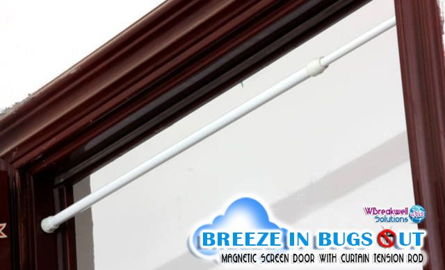 Screen Door Tension Rod : Best images about breeze in bugs out screen door on