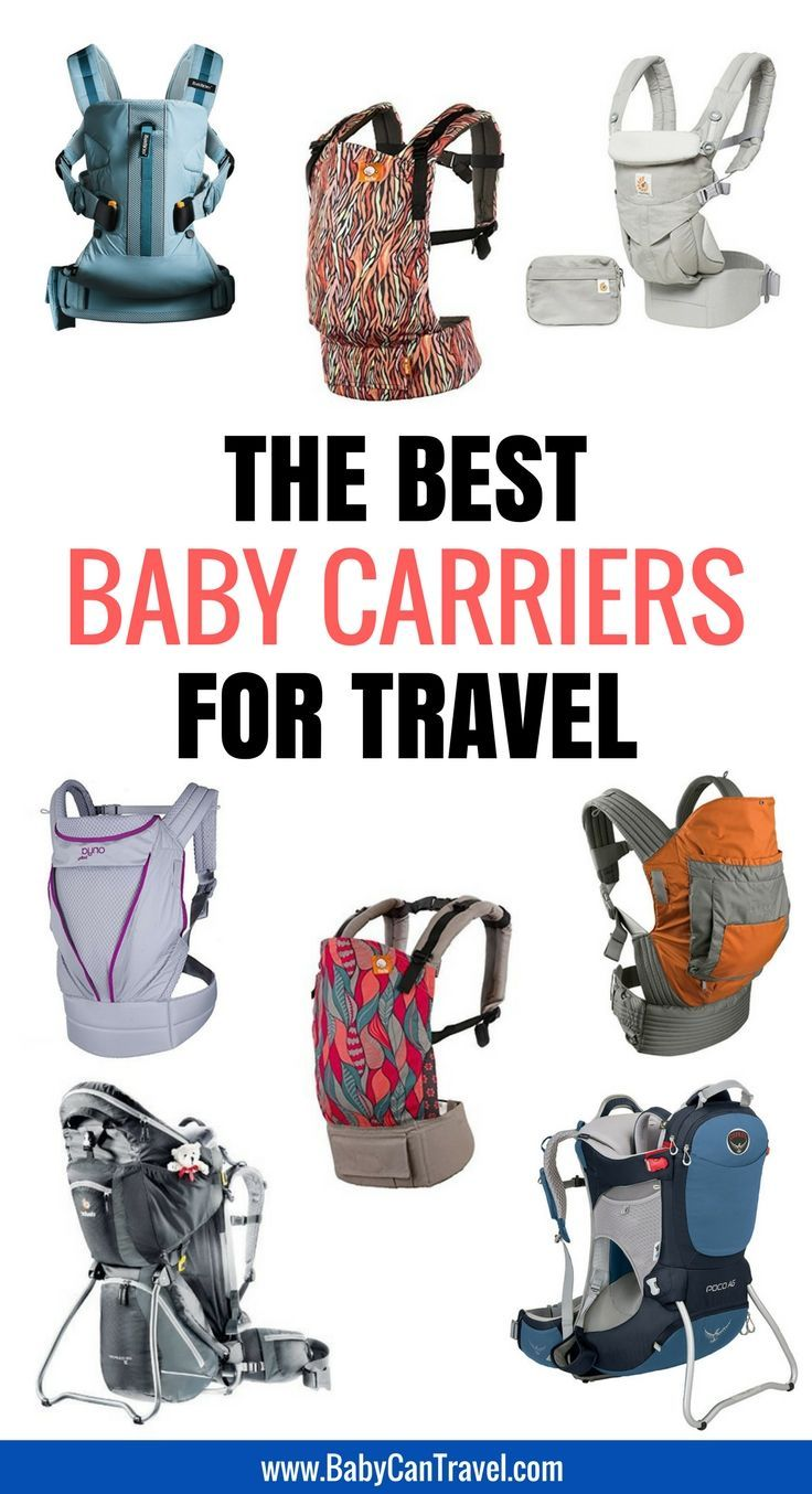 Best Baby Carriers for Travel | Family Travel Gear | Traveling with