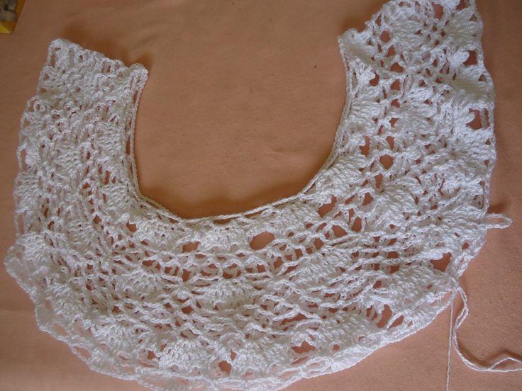 Aline Croche: Vestido ou saida de praia de croche