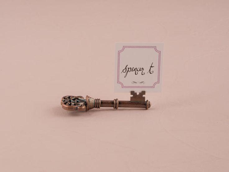Vintage key card holder