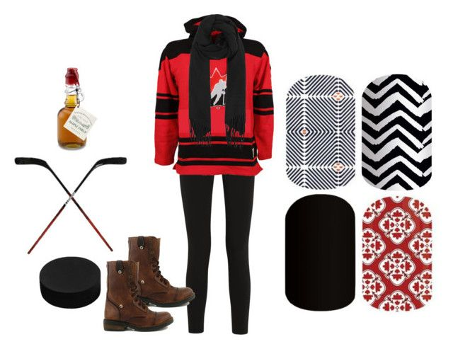 """""""Jamberry - Canada"""" by kspantongroup on Polyvore featuring beauty, Topshop Unique, Old Time Hockey, Royal Canadian Grizzleez and Acne Studios"""