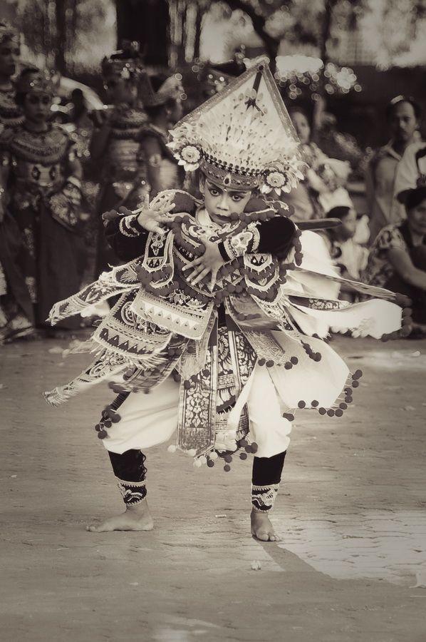 Balinese, baris tunggal dance