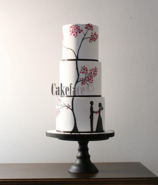 La señora Cake Caras Pasteles de boda favoritos de 2012