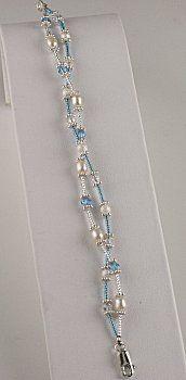 Jewelry Making Idea: Simply Elegant Twisted Bracelet (eebeads.com)