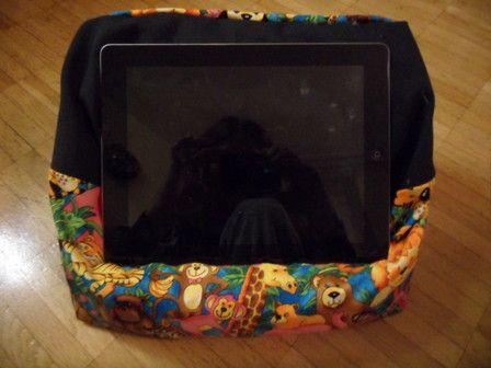 Lesekissen, Tablet / Ipad Kissen, Lesesack nähen