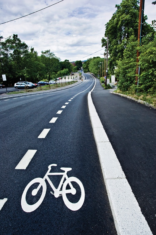Blindernveien. To secure safe #cycling conditions throughout the capital of Oslo