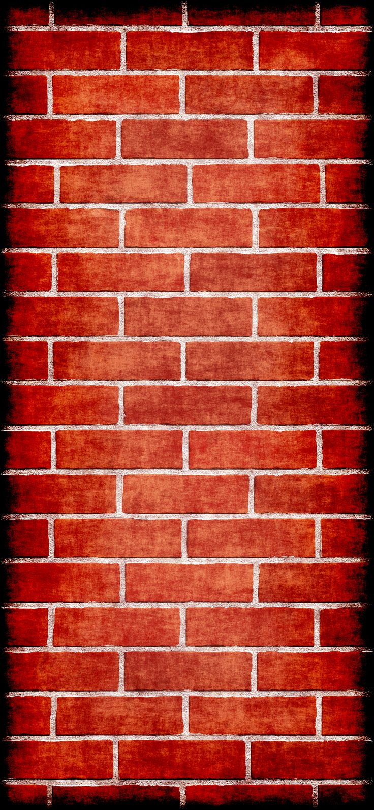 Grunge brick wall, iPhone X wallpaper Created by Angelo