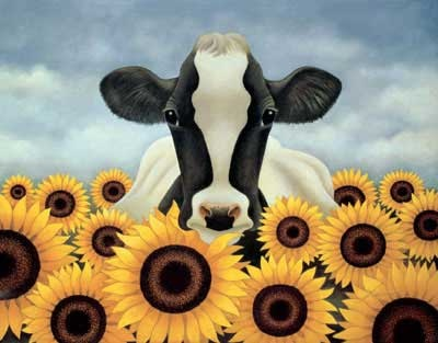 Artodyssey: Lowell Herrero |Sunflower Harvest Lowell Herrero