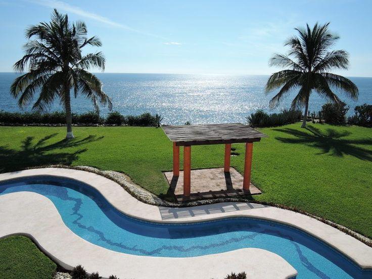 Puerto Escondido – widok na Pacyfik. fot. Paweł Trefler