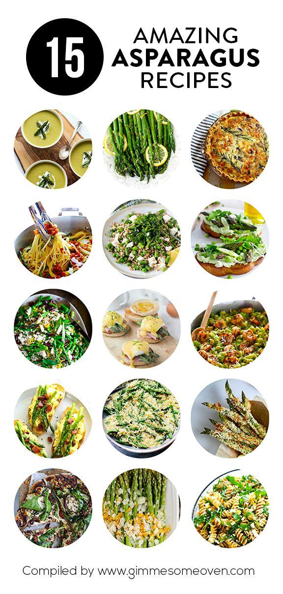 15 Asparagus Recipes   gimmesomeoven.com