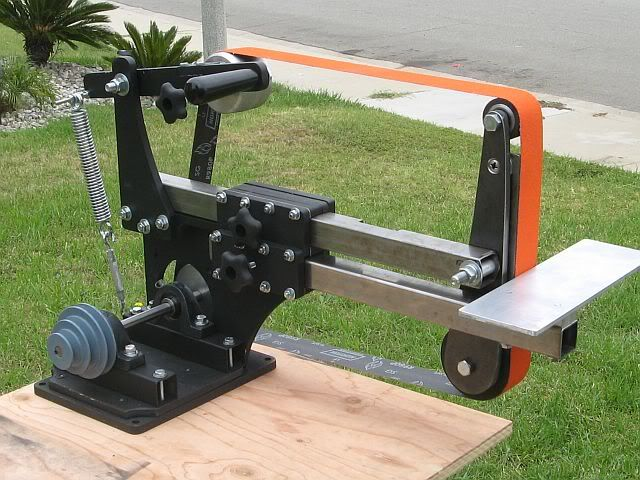 Adam Adams uploaded this image to 'Knife making Grinder'.  See the album on Photobucket.