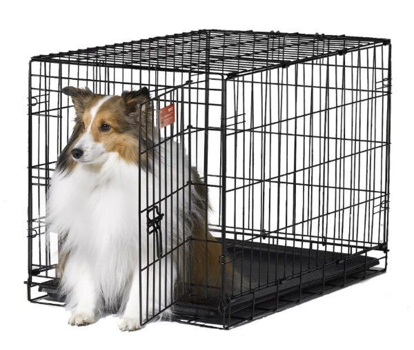 Medium Dog Crate And Kennels Travel With Divider Cats Dogs Pets Training Crates…
