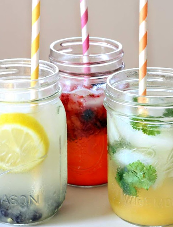 recipes for fizzy drinks. bring on summer!
