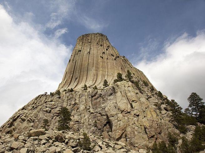 악마의탑, 데빌스 타워, 와이오밍(Devils Tower, Wyoming)