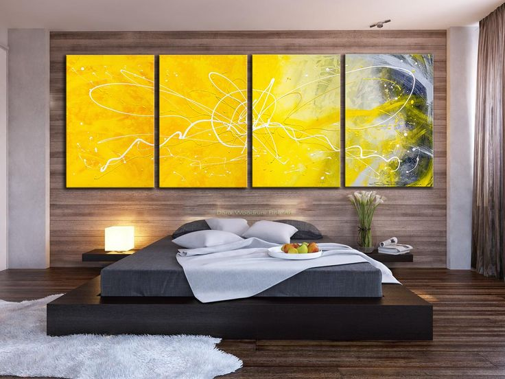 25 best Home Decorating Ideas - with Wall Art, Modern Abstract ...