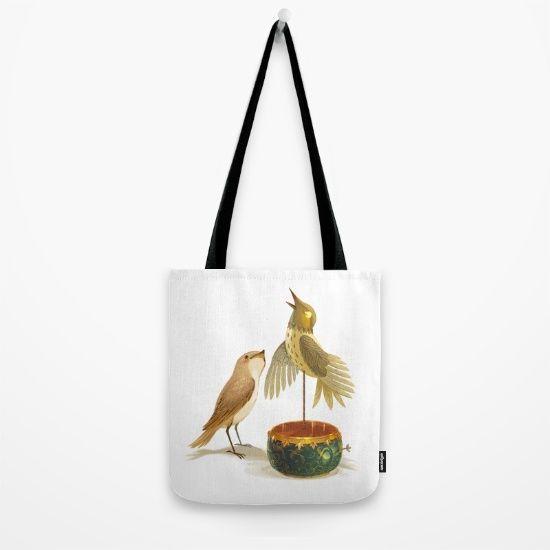 The Nightingale Tote Bag