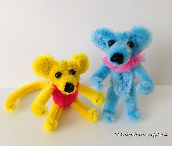 50+ Cutest Pipe Cleaner Crafts for Kids