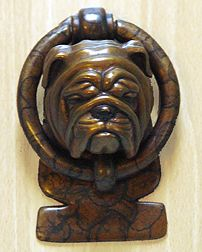 1000 images about on pinterest - Bulldog door knocker ...
