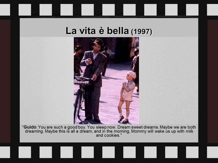 Paulien's fav films |  movie quote | cinema | quotes | La vita e bella