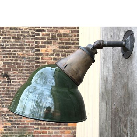 Antique Industrial Wall Sconce #https://www.pinterest.com/munlimited/ #materialsunlimited