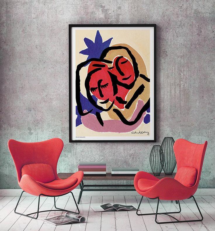 Hug Poster 70 x 100 cm - 1