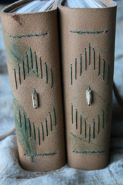THE SUSTAINABLE JOURNAL - the spines | a commission I decide… | Flickr