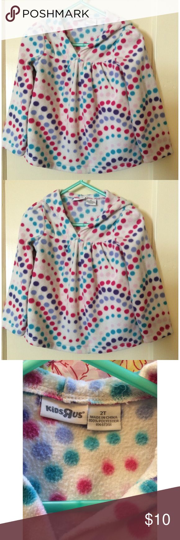 Kids R Us Polka Dot Pullover Kids R Us polka dot pullover. 2T. Kids R Us Shirts & Tops Sweatshirts & Hoodies